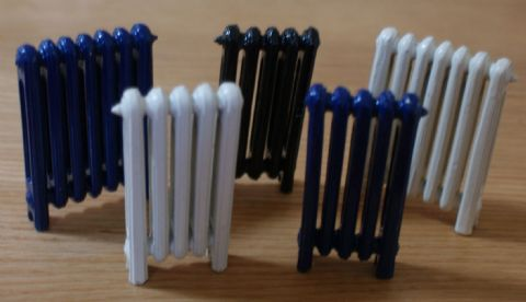 5 Bar Victorian Style Radiators...guaranteed not to leak!